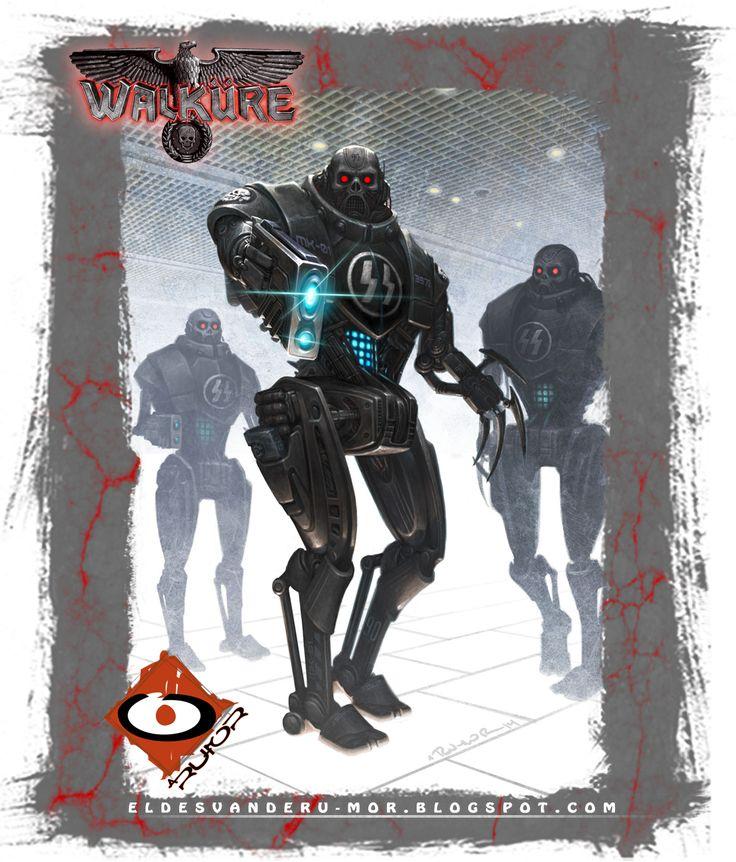 illustration for Walküre RPG by ªRU-MOR