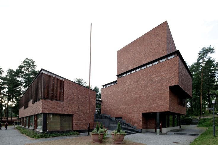 The Säynätsalo Town Hall is a multifunction building complex designed by Alvar Aalto for the municipality of Säynätsalo in Central Finland.