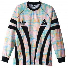 55257da2276 Palace x Adidas Graphic Goalie Shirt in Multi Colour / Black   Clothes in  2019   Adidas, Adidas Men, Shirts