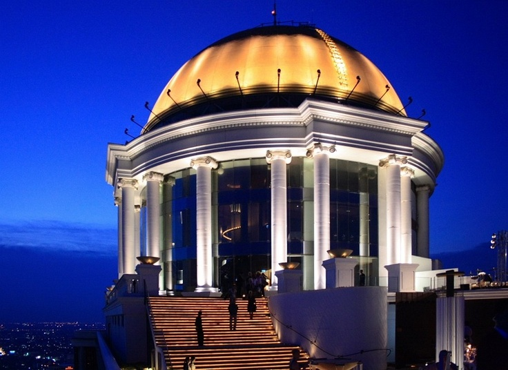Scirocco Bar at Lebua State Tower Hotel, Bangkok, favorite bar
