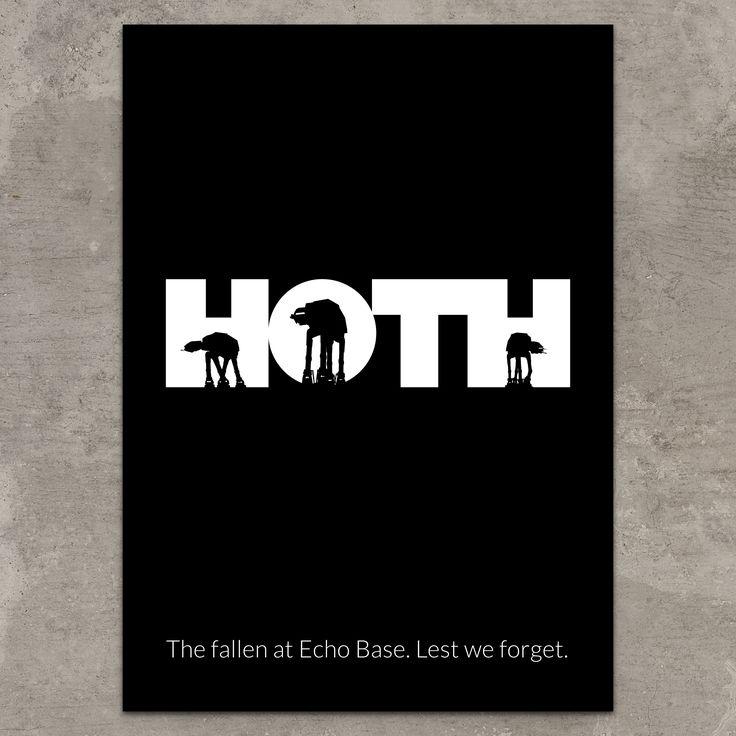 HOTH metal poster @ http://displate.com/displate/32463/