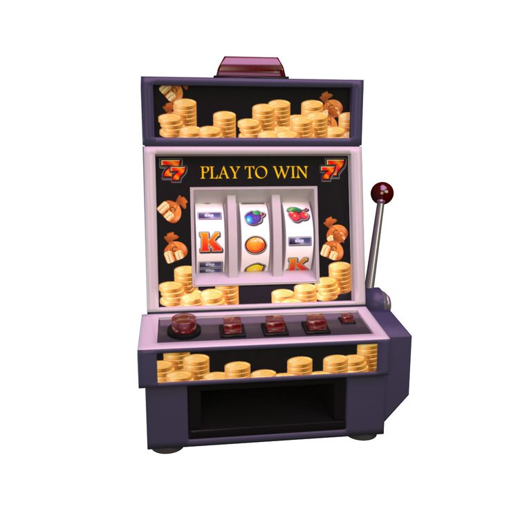 3D Max Casino Machine - 3D Model