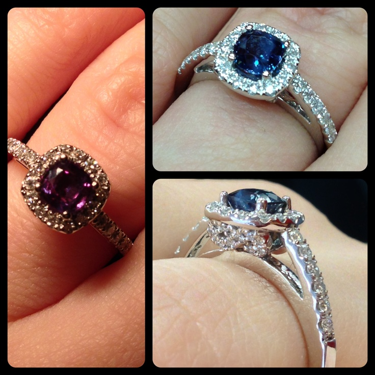alexandrite engagement ring - Alexandrite Wedding Ring