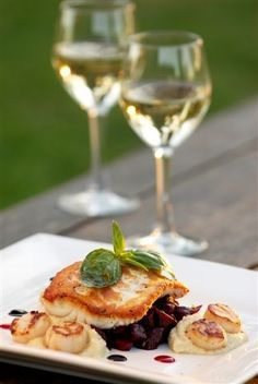 Thursday's wine quote...  'Wine makes a symphony of a good meal.' - Fernande Garvin