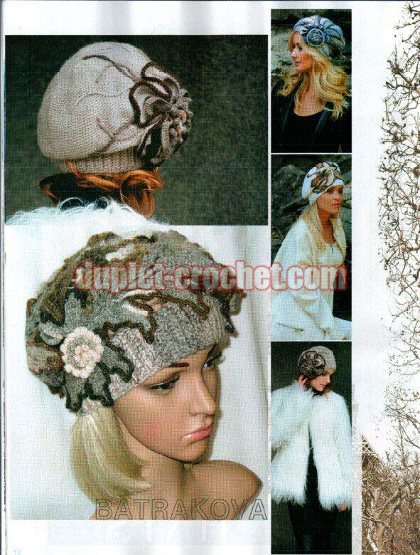 December 2014 Zhurnal MOD 583 Russian crochet n knit patterns