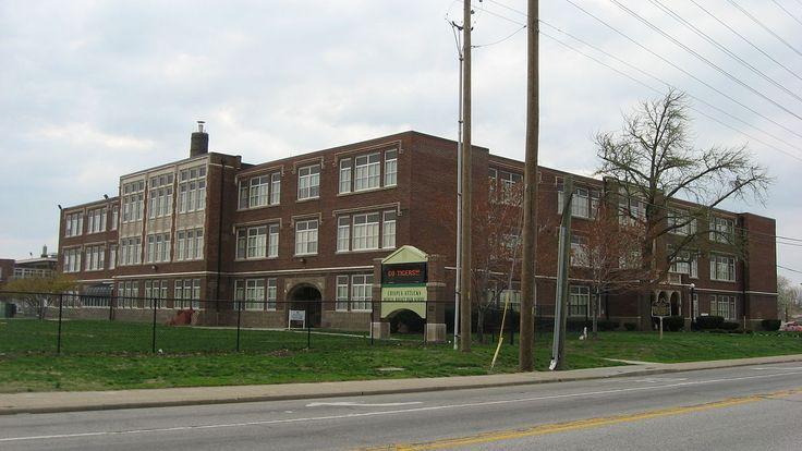 Crispus Attucks High School in Center Township, Marion County, Indiana.