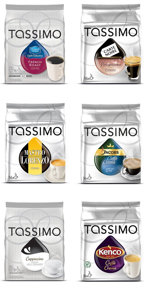 Tassimo.  Didn't know they had so many different ones.