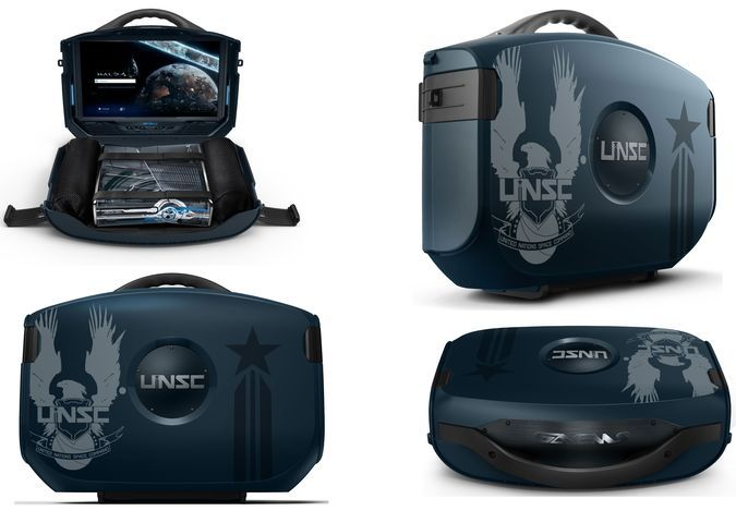 Transform Your XBox Into A Portable Game Console With The GAEMS Halo UNSC Vanguard http://coolpile.com/gear-magazine/transform-xbox-portable-game-console-gaems-halo-unsc-vanguard/ via @CoolPileCom   - $349 -   Amazon.com, Gaems, Gaming, HD, HDMI, Headphones, LED, Remote Control, Smart, Travel, XBOX