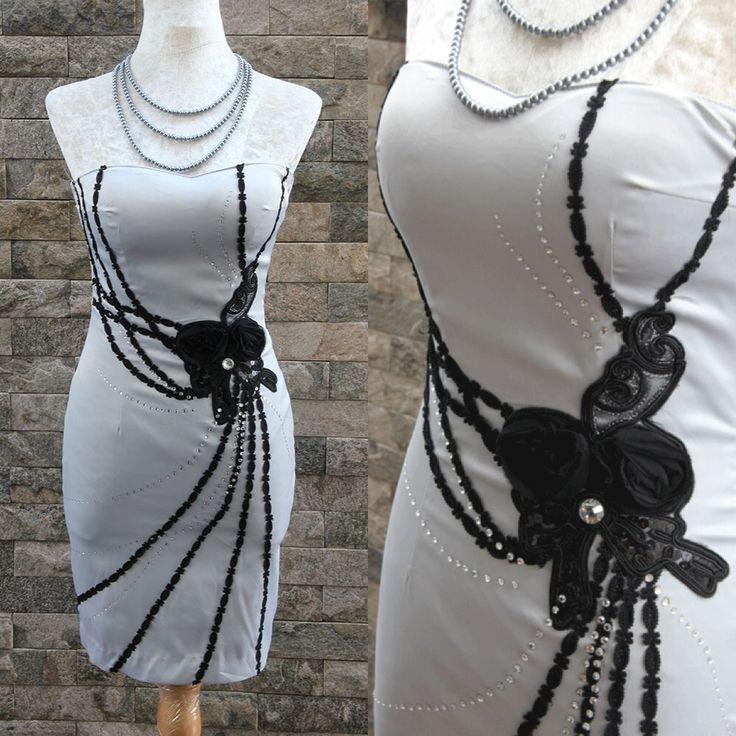 Shiny Grey Dress || www.ladyseoulshop.com