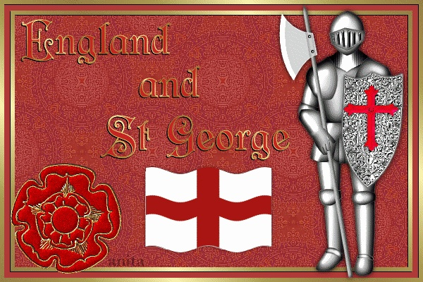 Happy St Georges Day. April 23rd.