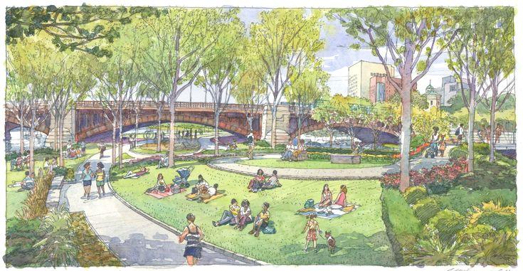 Park sketch Boston