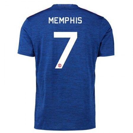 Manchester United 16-17 #Memphis Depay 7 Bortatröja Kortärmad,259,28KR,shirtshopservice@gmail.com