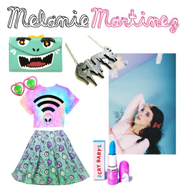 """""""Melanie Martinez"""" by juliagraceffa22 on Polyvore featuring Lime Crime"""