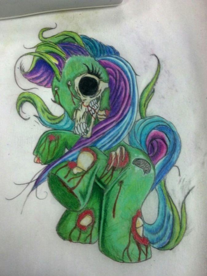 Zombie Little Girl Tattoo Top 25+ best Zombie ta...