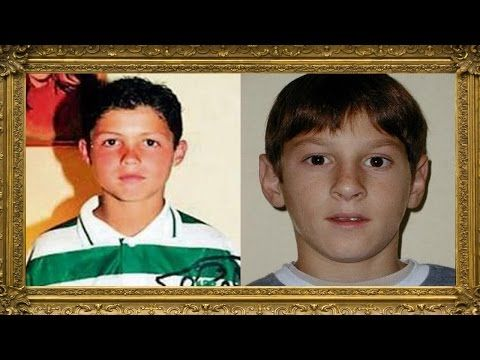 40 Footballers When They Were Kids | Can You Guess Them All? - YouTube