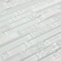 peel u0026 stick subway glass mosaic tile white is a diy doit
