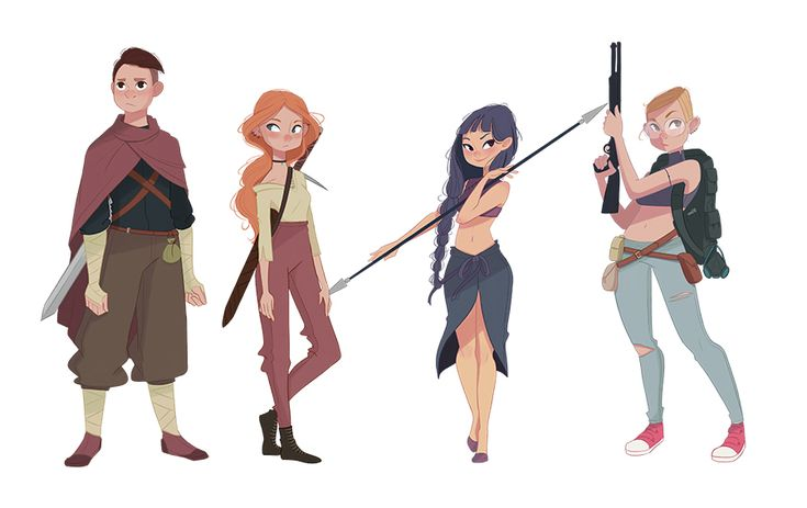 Character Design PartI I on Behance