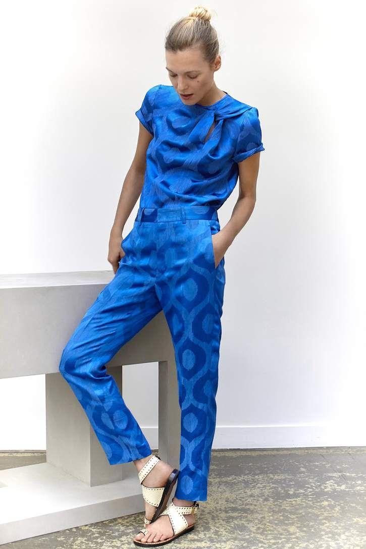 mytheresa.com - Top en jacquard satiné Silway - Luxe et Mode pour femme - Vêtements, chaussures et sacs de créateurs internationaux