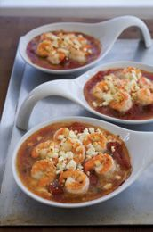 Baked Shrimp with Tomato, Feta and Capers from A Well-Seasoned Kitchen ...