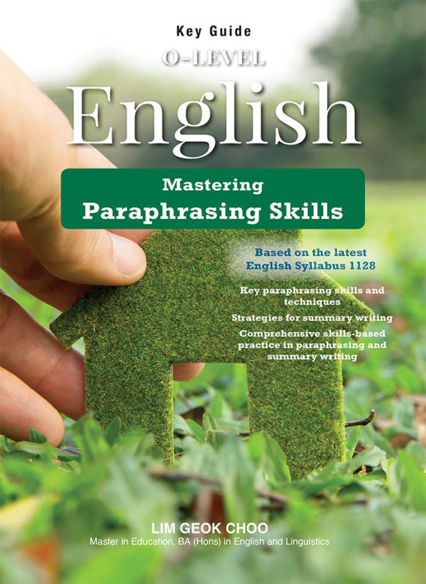 Key Guide O Level English Paraphrasing Skill Comprehension Questions Huckleberry Finn Paraphrase