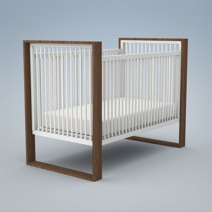 ducduc | Product | austin crib in all white  59w 44h 31.5d