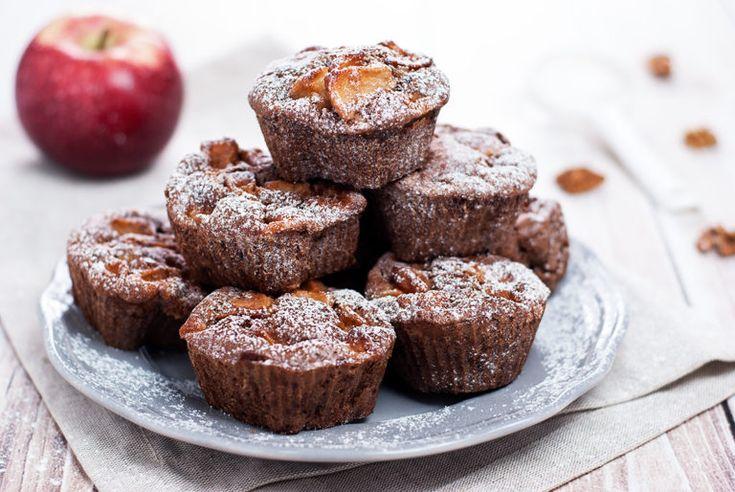 Muffiny cynamonowe z jabłkiem