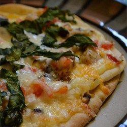 Blackened Chicken Alfredo Pizza - Allrecipes.com