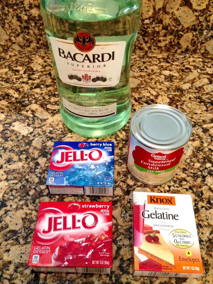 How To Make Red, White, And Blue Jello Shots Just In Time For Your Fourth Of July Celebration | Bustle