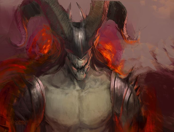 random balrog, Anastasiya Sytnik on ArtStation at https://www.artstation.com/artwork/OYz68