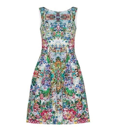 Cue - Floral Burst Print Dress