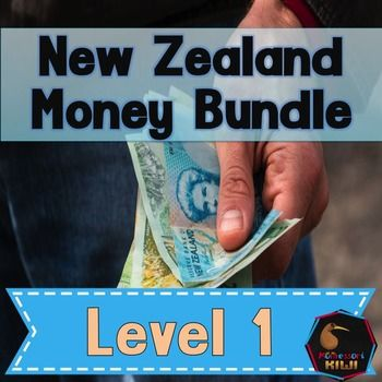 Boost financial literacy in your class! A range of activities to suit all learning styles in NZ junior maths classroomsThis is a bundle of all of my Level 1 activitiesMost of the activities feature copies of the old and new NZ notes these sheets are also available as individual files  see all the individual files hereLEVEL 1 ACTIVITIES-skip counting money in 2s, 5s and 10s-Money posters-Roll and cover game-Skip counting to $1 in 10s and 100 chart-How many ten cents equal ..-Matching amounts…