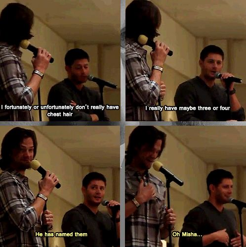 Jensen and Jared convention panel