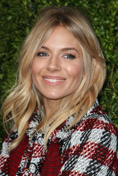 Sienna Miller fresh faced warm toned make up                                                                                                                                                                                 More