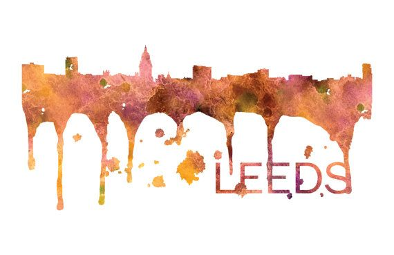 Leeds Art, Leeds Skyline, Leeds map, Leeds wall art, Leeds map print  A beautiful Watercolor Art print of Leeds, England. Perfect for an office or a gift to one of your friends. This is one vacation you do not want to miss! :::Print Details::: * Prints are printed with high quality ink on high quality paper (100lb). *Posters includes 1/8in bleed (border) around poster * Colors may vary slightly based on your computer monitor settings. * Frame and matte are not included.  :::Shipping Det...