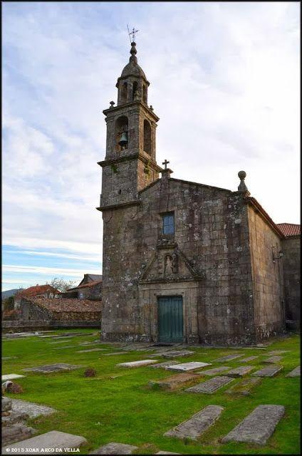 XOAN ARCO DA VELLA: IGLESIA DE SANTA MARIA - DODRO