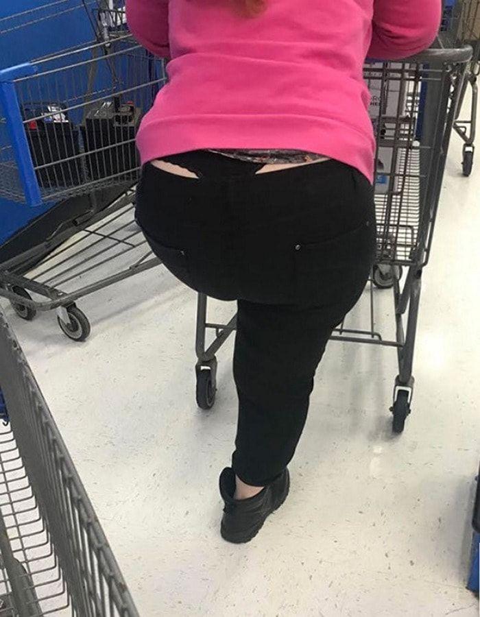 İşlemeye Aşırı Saçma Olan Walmart İnsanları (100+ Resim)