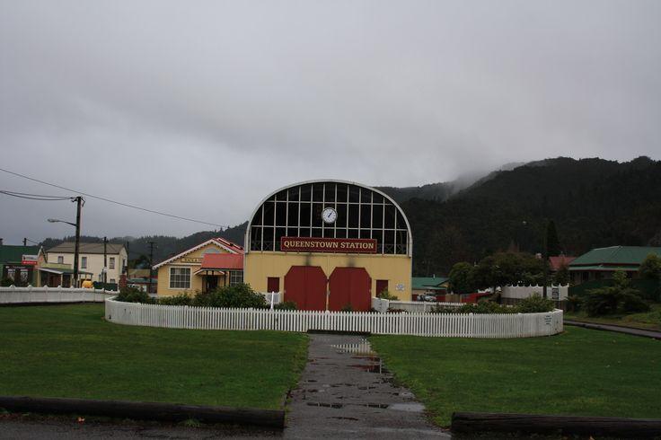 West Coast Tasmania. Queenstown railway station