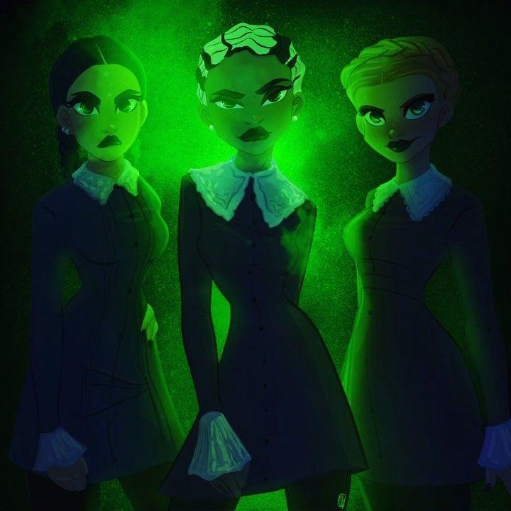 Weird Sisters Fanart 6