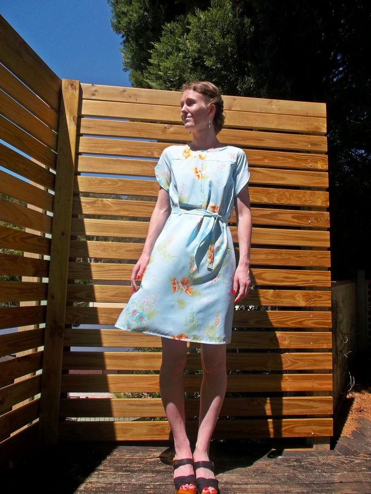 Antipodean Stitcher: Dustbowl Dress