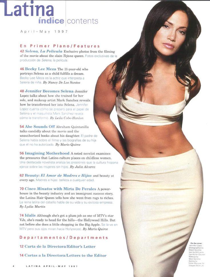 Jennifer Lopez Selena | Jennifer Lopez & Selena Quintanilla magazine