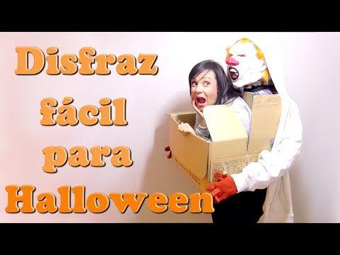El mejor disfraz de #Halloween de última hora   disfraces rapidos facil con cosas de casa Isa ❤️ - YouTube