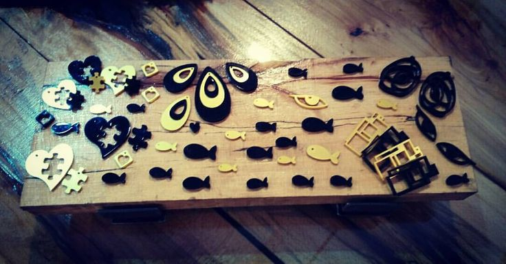 Plexiglass Modern Jewelry
