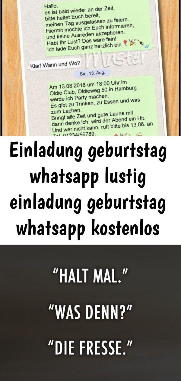 Einladung Geburtstag Whatsapp Lustig Einladung Geburtstag Whatsapp