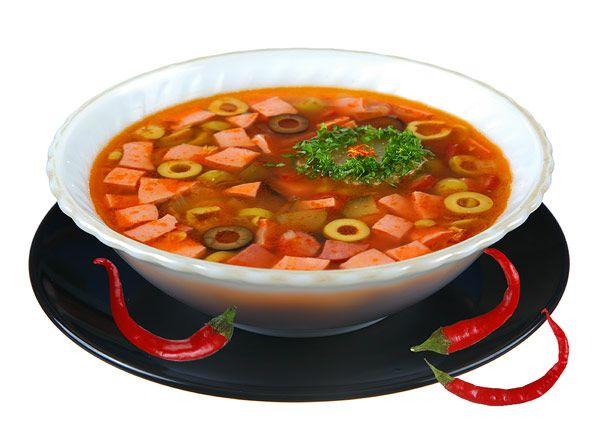 Суп салянка рецепт приготовления