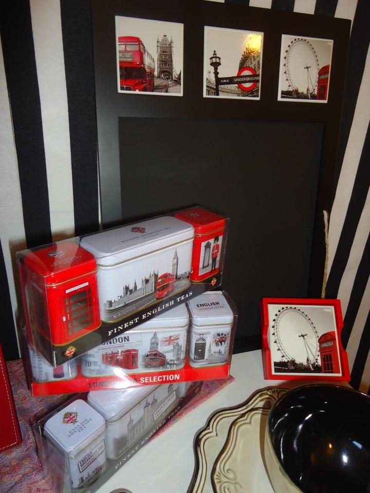 Set Té London Pizarra London Posa vasos London