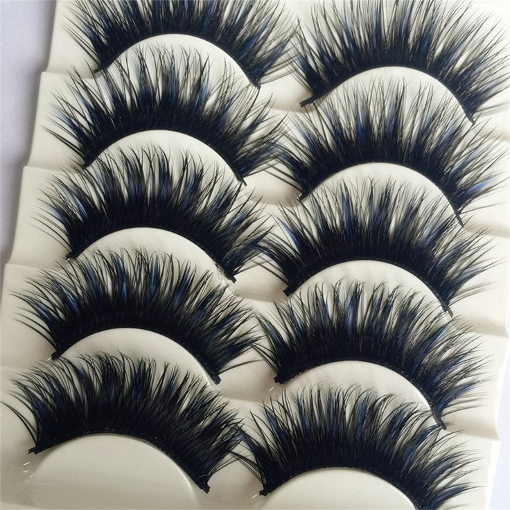 1.06$ (Buy here: http://alipromo.com/redirect/product/olggsvsyvirrjo72hvdqvl2ak2td7iz7/32688956663/en ) Black&Blue 5 Pairs/box Thick Eye Lashes Extension Party Makeup Soft Crisscross Fake Makeup Beauty False Eyelashes Cosmestic for just 1.06$