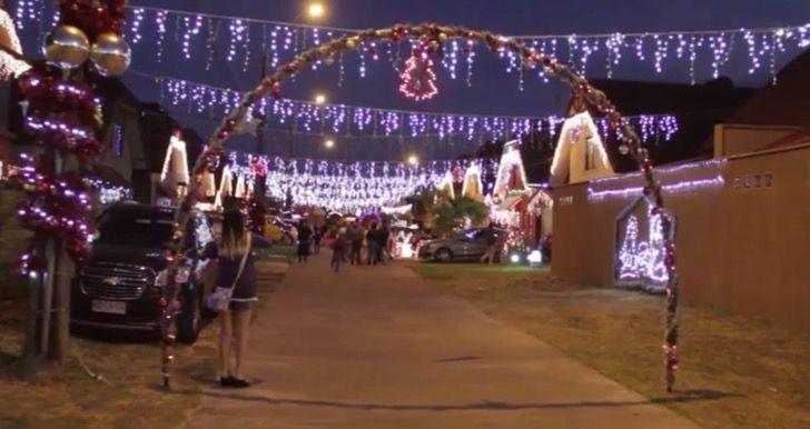 Un paraíso navideño cobra vida en Chile