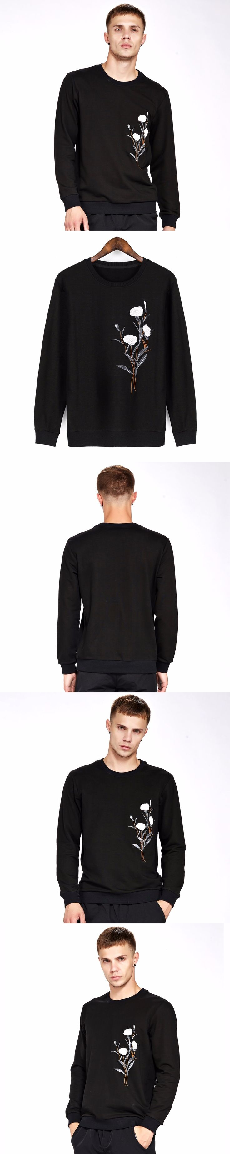 SHIFOPUTI Antumn Latest Design Male Luxury Long Sleeve Slim T-shirt Comfortable Popular Brand Clothing High Quality T shirts