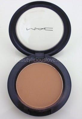 MAC Harmony-my go-to contouring shade. It doesn't turn orange on fair skin tones.