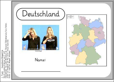 Im Sachunterricht lernt die Hasenklasse gerade Deutschland und die Bundesländer kennen. Dazu gehören auch die einzelnen Hauptstädte der Bun...